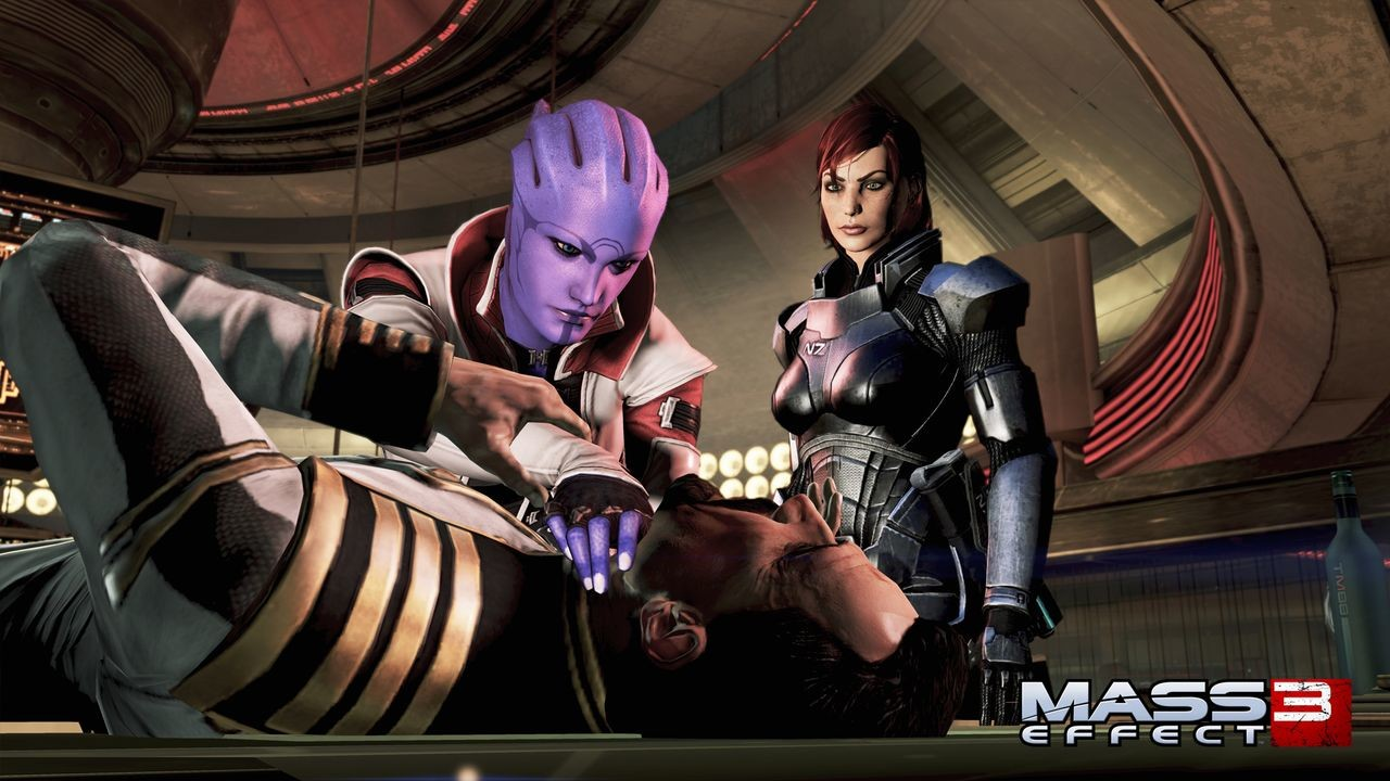 Mass effect 3 nude pack ps3 pics hentai comic