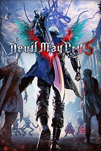 Devil may cry 5 jaquette