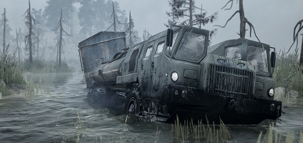 TEST : Spintires MudRunner test Snowrunner lageekroom blog jeux video