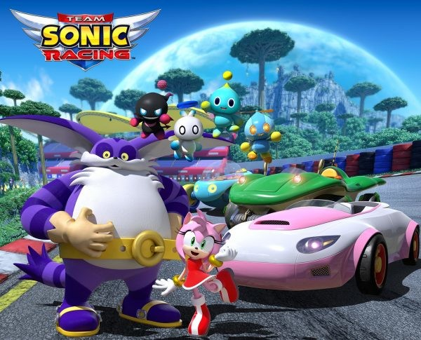 team sonic racing amy big