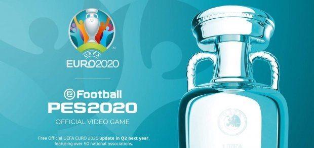 Pes 2020 Obtient Les Droits De L Euro 2020 Une Mise A Jour
