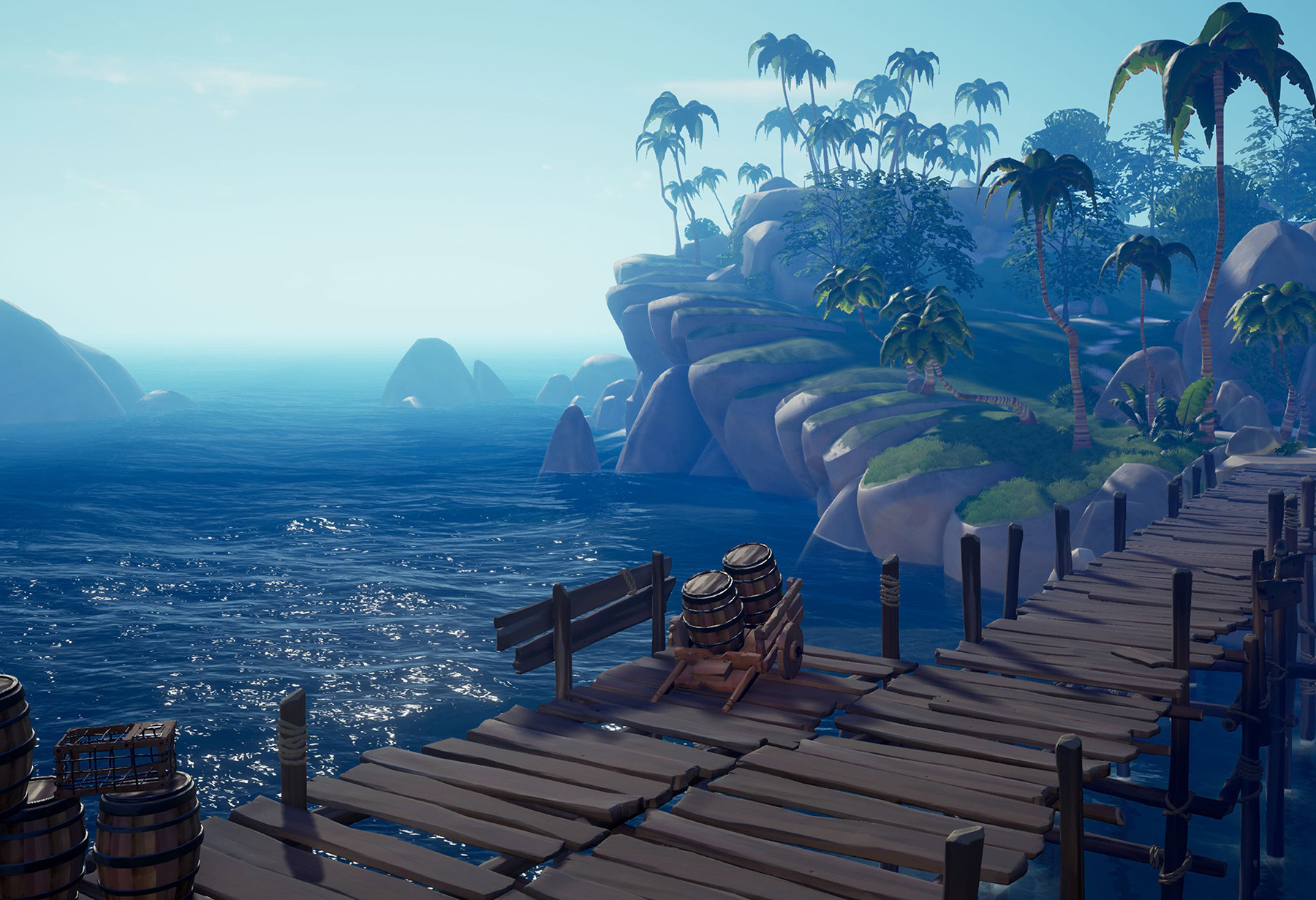 sea of thieves landscape