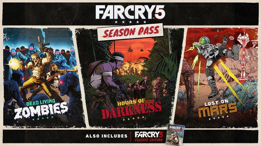 Far Cry 5 : 3 nouvelles aventures pour le Season Pass